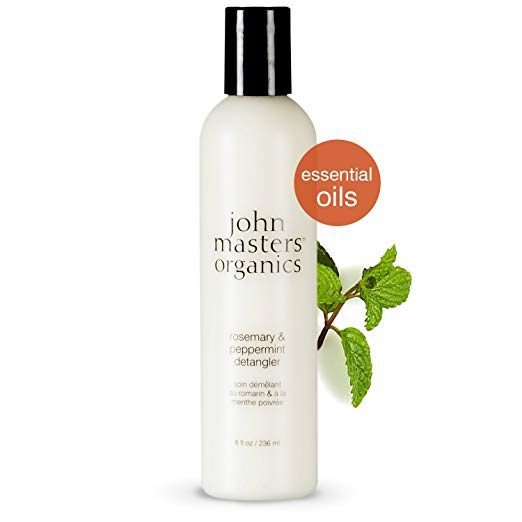WHOLESALE JOHN MASTERS ORGANICS ROSEMARY & PEPPERMINT DETANGLER 8 OZ - 48 PIECE LOT