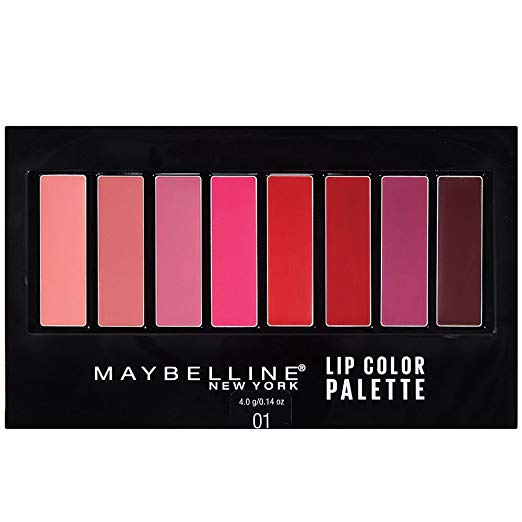 WHOLESALE MAYBELLINE LIP COLOR PALETTE 01 - 72 PIECE LOT
