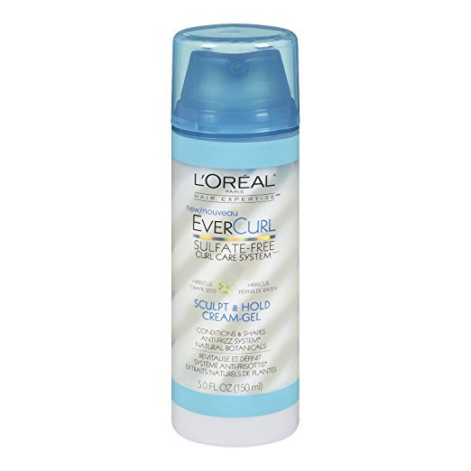 WHOLESALE LOREAL EVERCURL SCULPT & HOLD CREAM-GEL 5 OZ. - 48 PIECE LOT