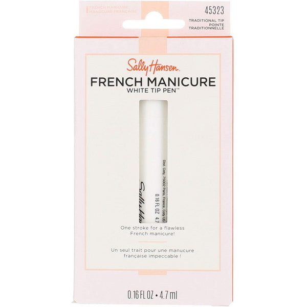 WHOLESALE SALLY HANSEN FRENCH MANICURE WHITE TIP PEN - TRADITIONAL TIP - 48 PIECE LOT