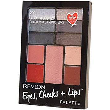 WHOLESALE REVLON EYES CHEEKS + LIPS PALETTE - SEDUCTIVE SMOKES 200 - 50 PIECE LOT