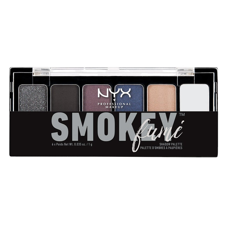 WHOLESALE NYX COSMETICS SMOKEY FUME EYE SHADOW PALETTE - 50 PIECE LOT