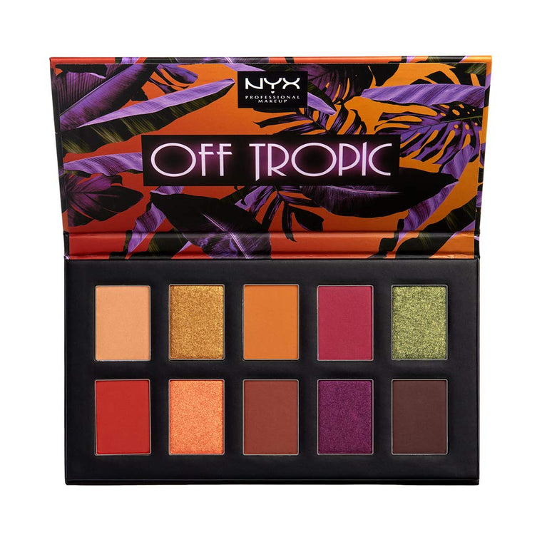 WHOLESALE NYX OFF TROPIC EYE SHADOW PALETTE - 48 PIECE LOT