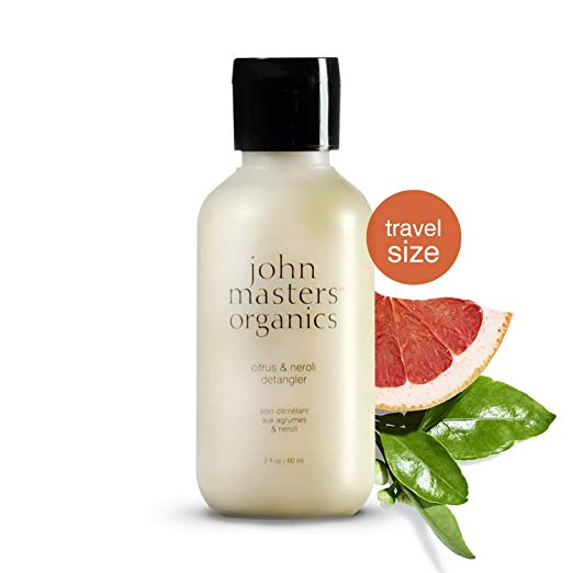 WHOLESALE JOHN MASTERS ORGANICS CITRUS & NEROLI DETANGLER TRAVEL SIZE 2 OZ - 48 PIECE LOT