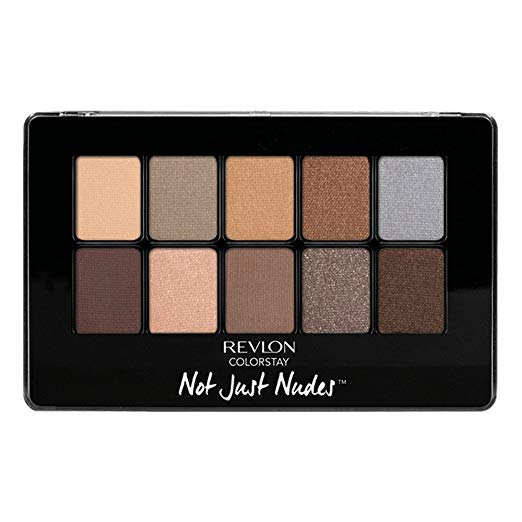 WHOLESALE REVLON COLORSTAY NOT JUST NUDES SHADOW PALETTE - PASSIONATE NUDES 01 - 50 PIECE LOT