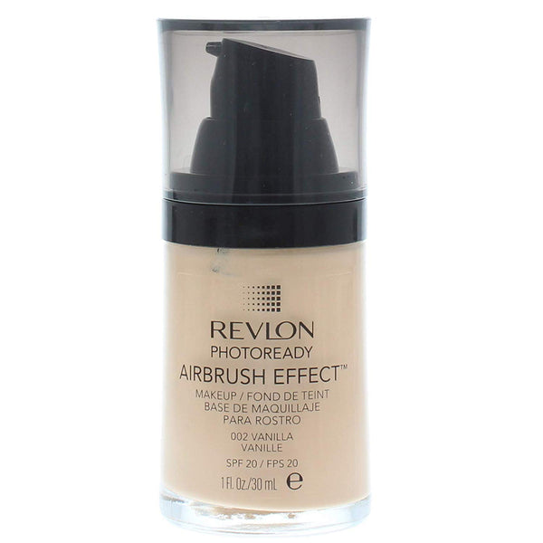 WHOLESALE REVLON PHOTOREADY AIRBRUSH EFFECT MAKEUP 1 OZ - VANILLA 002 - 48 PIECE LOT