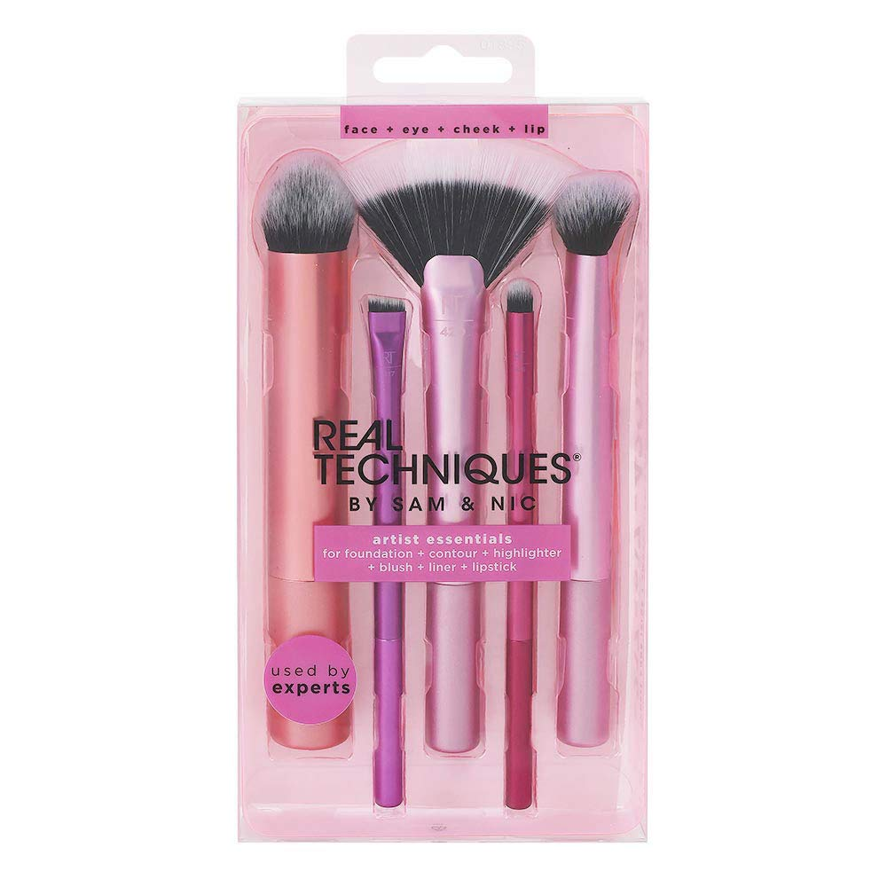WHOLESALE REAL TECHNIQUES ARTIST ESSENTIALS BRUSH SET  - 48 PIECE LOT