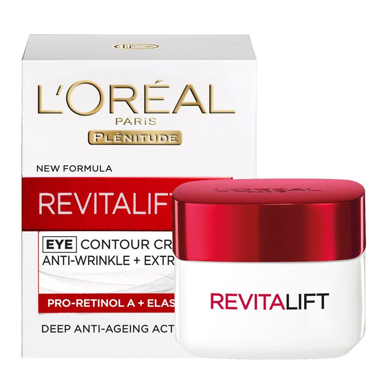 WHOLESALE LOREAL PARIS PLENITUDE REVITALIFT HYDRATING EYE CREAM ANTI-WRINKLE + EXTRA FIRMING 0.5 OZ - 48 PIECE LOT