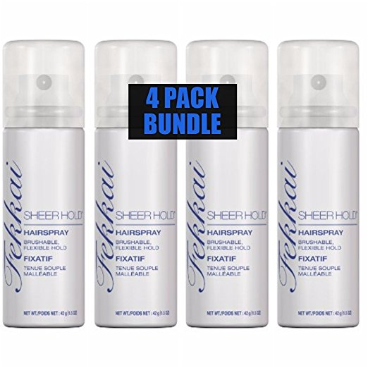 WHOLESALE FEKKAI TRAVEL SIZE SHEER HOLD HAIRSPRAY 1.5 OZ. (PACK OF 4) - 50 PIECE LOT