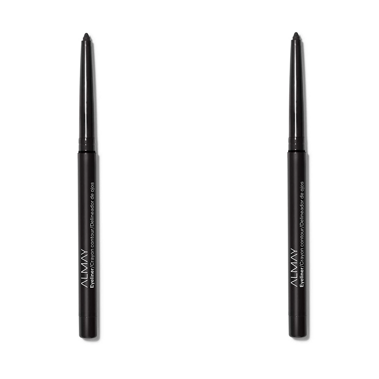 WHOLESALE ALMAY EYELINER PENCIL (PACK OF 2) - BLACK 205 - 50 PIECE LOT