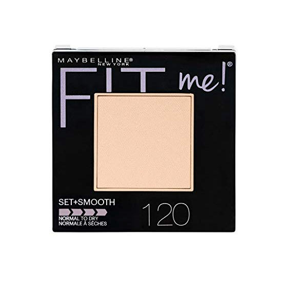 WHOLESALE MAYBELLINE FIT ME! SET + SMOOTH POWDER MAKEUP 0.3 OZ - CLASSIC IVORY 120  - 72 PIECE LOT