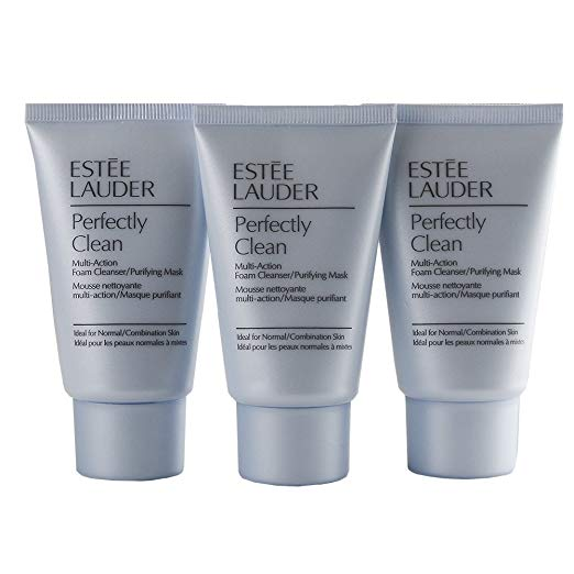 WHOLESALE ESTEE LAUDER PERFECTLY CLEAN MULTI-ACTION FOAM CLEANSER/PURIFYING MASK 1 OZ (PACK OF 3) - 48 PIECE LOT
