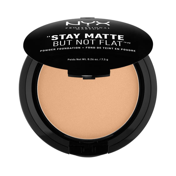 WHOLESALE NYX STAY MATTE BUT NOT FLAT POWDER FOUNDATION 0.26 OZ - TAN - 48 PIECE LOT