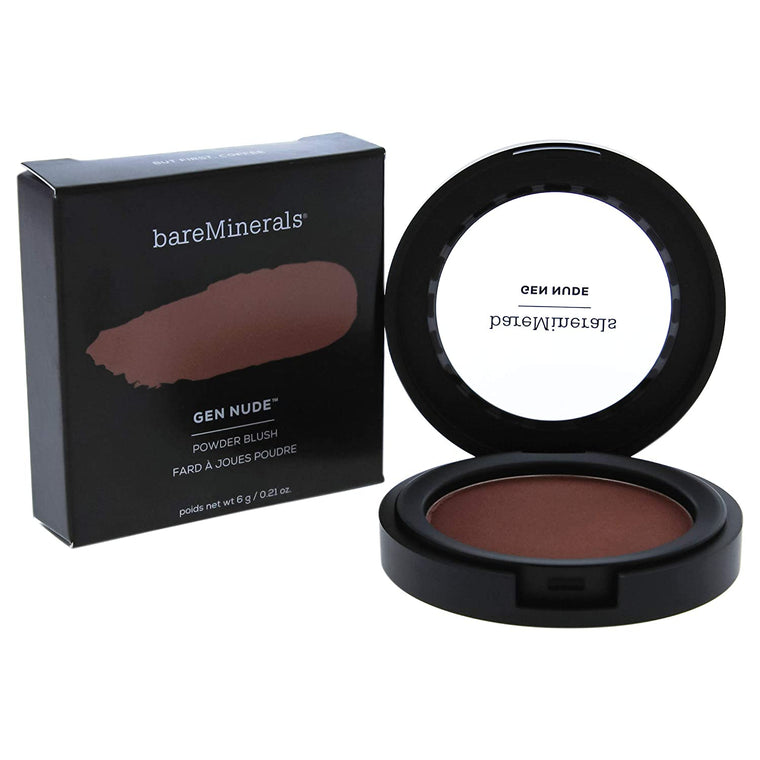 WHOLESALE BAREMINERALS GEN NUDE POWDER BLUSH - BUT FIRST COFFEE - 50 PIECE LOT