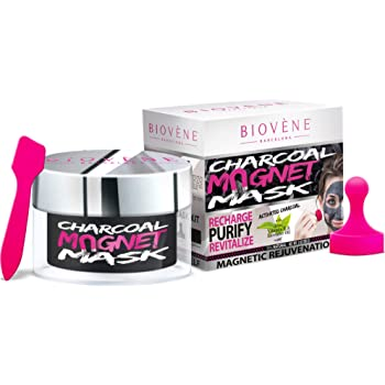 WHOLESALE BIOVENE CHARCOAL MAGNET MASK 3 OZ - 48 PIECE LOT