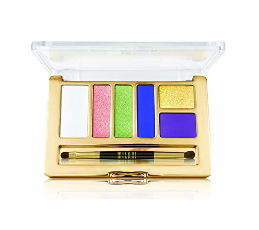 WHOLESALE MILANI EVERYDAY EYES EYESHADOW COLLECTION PALETTE - VITAL BRIGHTS 06 - 48 PIECE LOT
