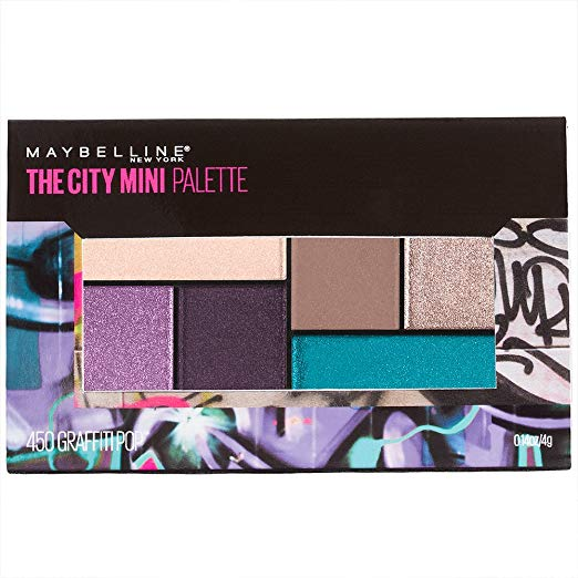 WHOLESALE MAYBELLINE THE CITY MINI PALETTE - GRAIFITTI POP 450 - 72 PIECE LOT