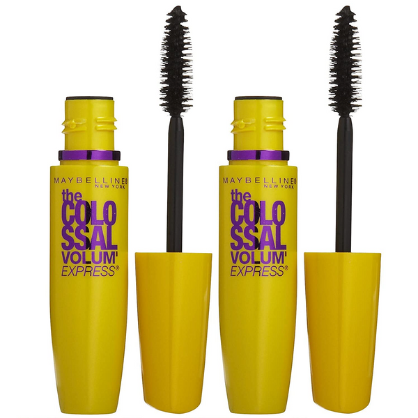 WHOLESALE MAYBELLINE VOLUM EXPRESS THE COLOSSAL MASCARA 0.31 OZ (PACK OF 2) - CLASSIC BLACK 231 - 48 PIECE LOT