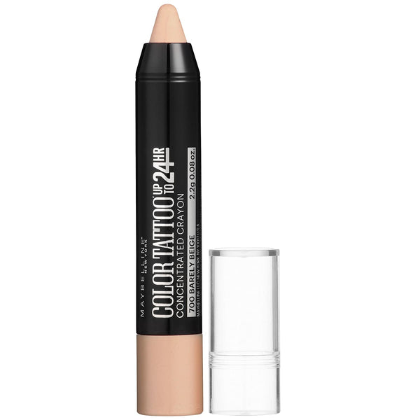 WHOLESALE MAYBELLINE EYESTUDIO COLORTATTOO CONCENTRATED CRAYON EYELINER - BARELY BEIGE 700 - 48 PIECE LOT