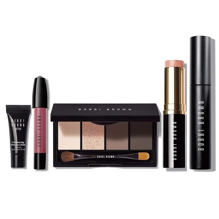 WHOLESALE BOBBI BROWN READY IN 5 EDITION EYE CHEEK & LIP KIT SET - 25 PIECE LOT