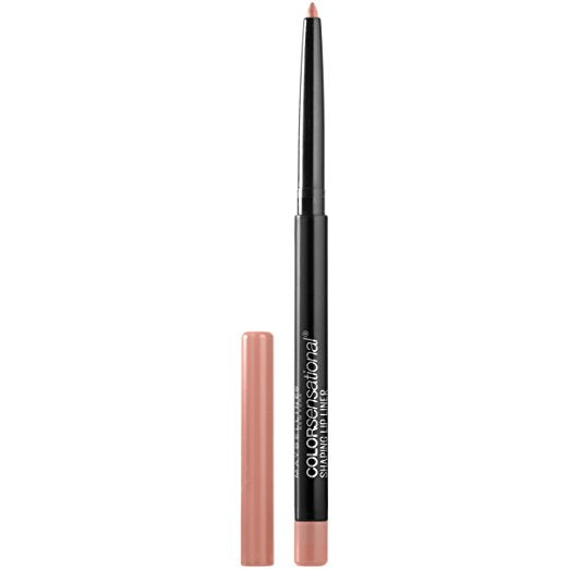 WHOLESALE MAYBELLINE COLORSENSATIONAL SHAPING LIP LINER - NUDE WHISPER - 50 PIECE LOT