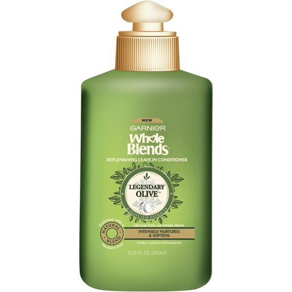 WHOLESALE GARNIER WHOLE BLENDS LEGENDARY OLIVE REPLENISHING LEAVE-IN CONDITIONER 10.2 OZ - 48 PIECE LOT