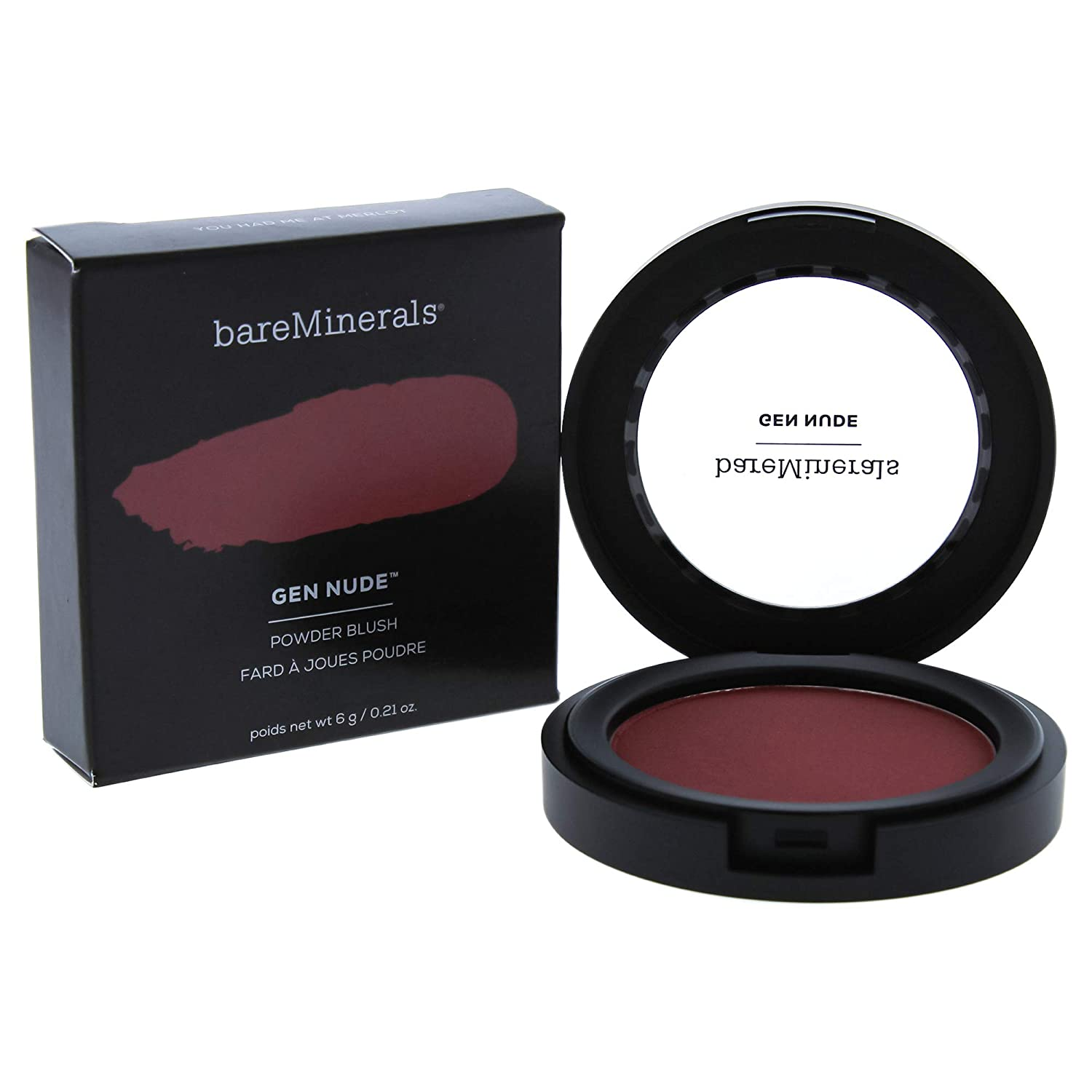 WHOLESALE BAREMINERALS GEN NUDE POWDER BLUSH - YOU HAD ME AT MERLOT - 50 PIECE LOT