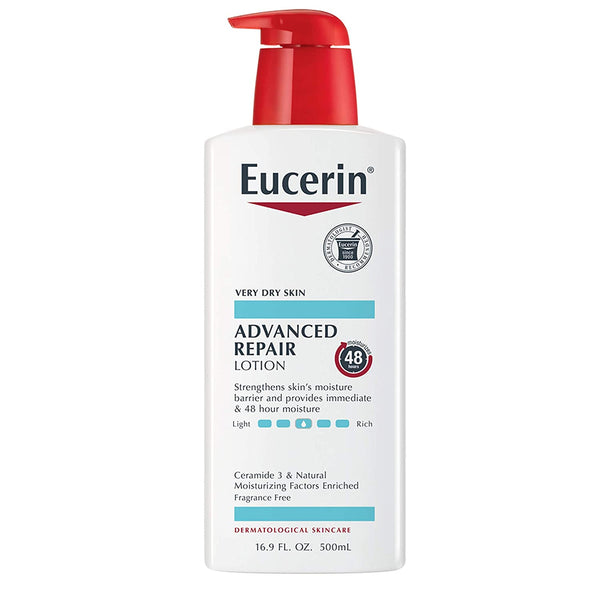 WHOLESALE EUCERIN ADVANCED REPAIR LOTION 16.9 OZ - 48 PIECE LOT