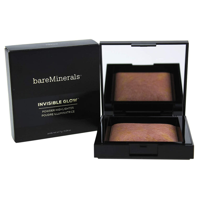WHOLESALE BAREMINERALS INVISIBLE GLOW POWDER HIGHLIGHTER 0.24 OZ - MEDIUM - 50 PIECE LOT
