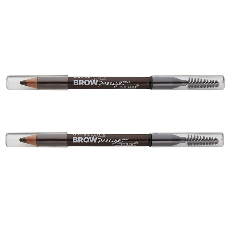 WHOLESALE MAYBELLINE BROW PRECISE SHAPING EYEBROW PENCIL (PACK OF 2) - DEEP BROWN 260 - 48 PIECE LOT