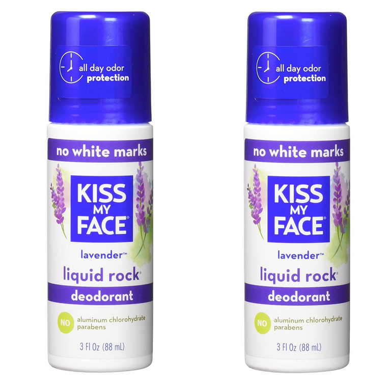 WHOLESALE KISS MY FACE LIQUID ROCK LAVENDER DEODORANT 3 OZ (PACK OF 2) - 48 PIECE LOT