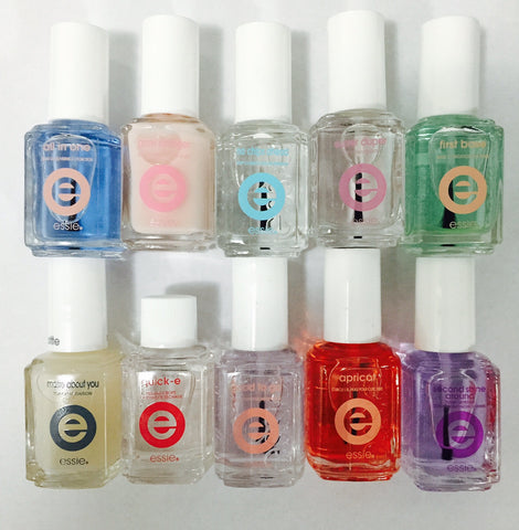 WHOLESALE ESSIE NAIL TREATMENTS - UNBOXED ASSORTED - 100 PIECE LOT