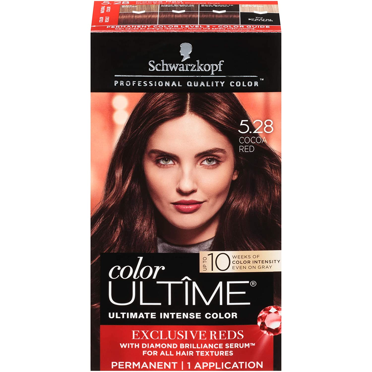 WHOLESALE Schwarzkopf COLOR ULTIME HAIR COLOR CREAM - COCOA RED 5.28 - 48 PIECE LOT