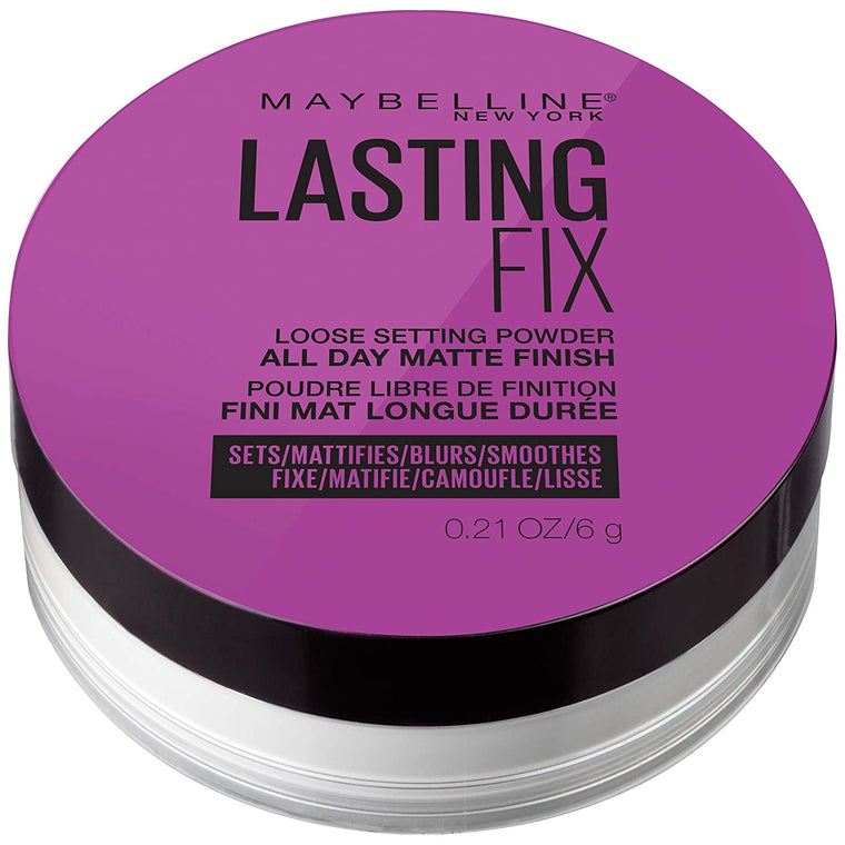 WHOLESALE MAYBELLINE LASTING FIX LOOSE SETTING POWDER ALL DAY MATTE FINISH 0.21 OZ - 48 PIECE LOT