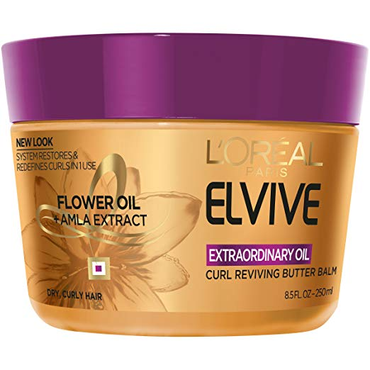WHOLESALE LOREAL ELVIVE EXTRAORDINARY OIL CURL REVIVING BUTTER BALM 8.5 OZ - 48 PIECE LOT
