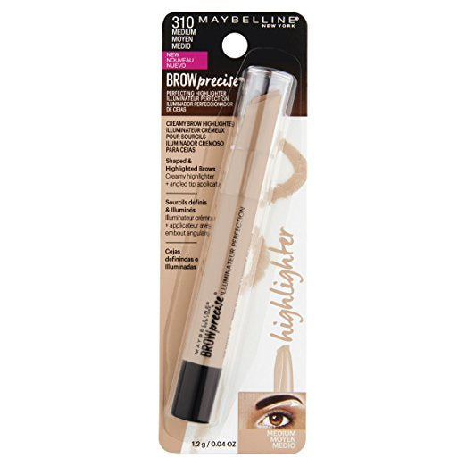 WHOLESALE MAYBELLINE BROW PRECISE PERFECTING HIGHLIGHTER - MEDIUM 310 - 72 PIECE LOT
