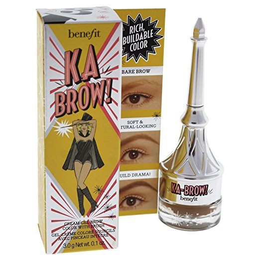 WHOLESALE BENEFIT KA BROW CREAM-GEL BROW COLOR WITH BRUSH - NO. 6 - 18 PIECE LOT