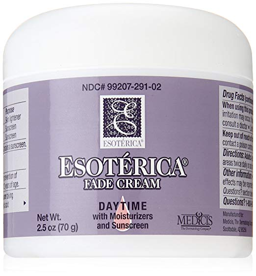 WHOLESALE ESOTERICA FADE CREAM DAYTIME WITH MOISTURIZERS AND SUNSCREEN - 2.5 OZ - 24 PIECE LOT