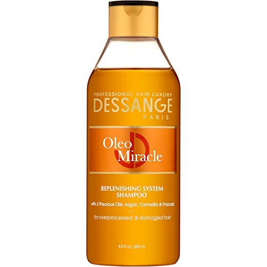 WHOLESALE DESSANGE PARIS OLEO MIRACLE SHAMPOO 8.5 OZ.  - 48 PIECE LOT