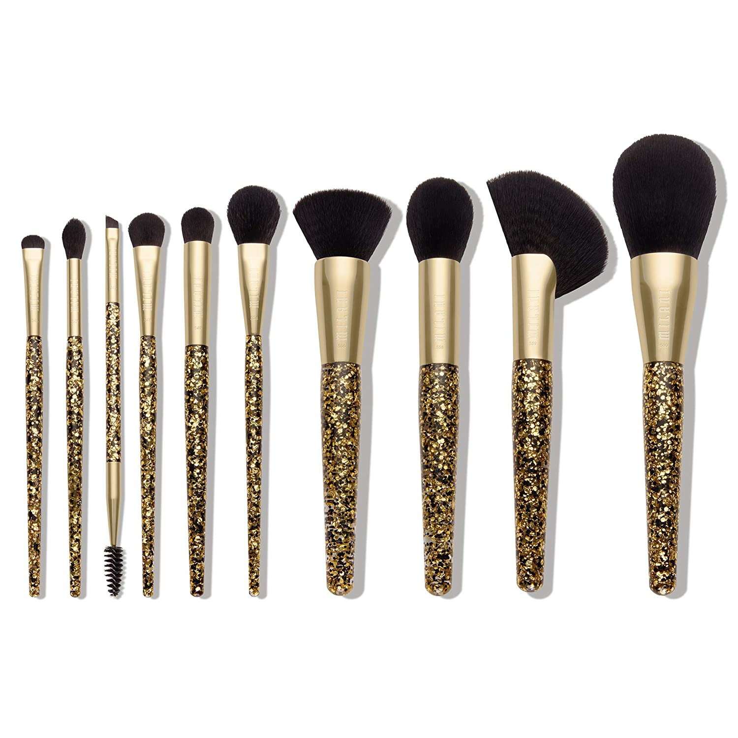 WHOLESALE MILANI LUXE BRUSH SET - 10 PIECE BRUSH SET - 36 PIECE LOT