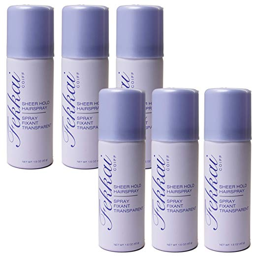 WHOLESALE FEKKAI COIFF SHEER HOLD HAIRSPRAY TRAVEL SIZE 1.5 OZ. (PACK OF 6) - 50 PIECE LOT