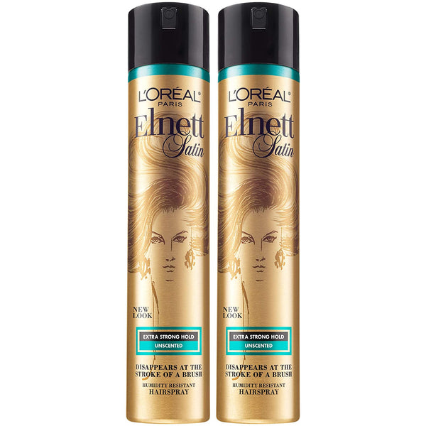 WHOLESALE LOREAL ELNETT SATIN EXTRA STRONG HOLD HAIRSPRAY 11 OZ (PACK OF 2) - 48 PIECE LOT