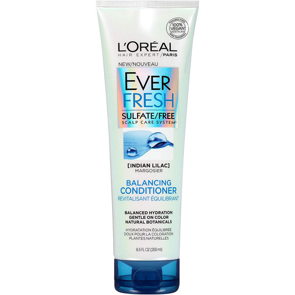 WHOLESALE LOREAL EVER FRESH SULFATE FREE BALANCING CONDITIONER 8.5 OZ - 48 PIECE LOT