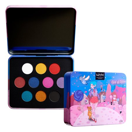 WHOLESALE NYX COSMETICS LAND OF LOLLIES EYESHADOW PALETTE - 48 PIECE LOT