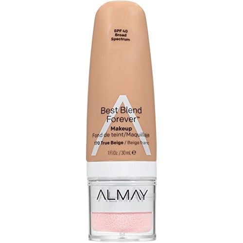 WHOLESALE ALMAY BEST BLEND FOREVER MAKEUP 1 OZ - TRUE BEIGE 170 - 48 PIECE LOT
