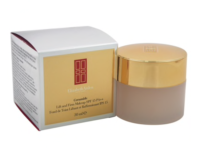 WHOLESALE ELIZABETH ARDEN CERAMIDE LIFT AND FIRM MAKEUP - WARM SUNBEIGE 03 - 50 PIECE LOT