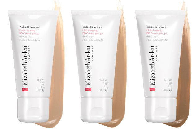 WHOLESALE ELIZABETH ARDEN VISIBLE DIFFERENCE MULTI-TARGETED BB CREAM - SHADE 03 - 50 PIECE LOT