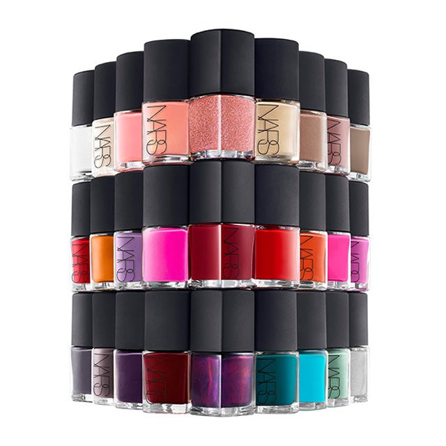 WHOLESALE NARS NAIL POLISH BOXED FULL SIZE 0.5 OZ. ASSORTED - 50 PIECE LOT