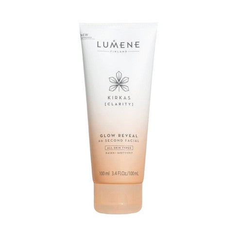 WHOLESALE LUMENE KIRKAS CLARITY GLOW REVEAL 60 SECOND FACIAL 3.4 OZ - 48 PIECE LOT