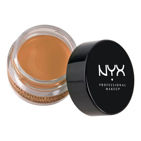 WHOLESALE NYX COSMETICS FULL COVERAGE CONCEALER 0.25 OZ. - CARAMEL - 50 PIECE LOT